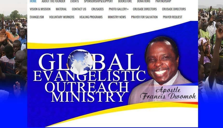 Global Evangelistic Outreach Ministry Website