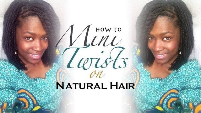 Mini twists natural hair-How to do mini twists on natural hair