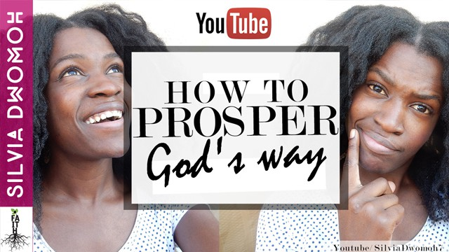 How to prosper gods way in hard times